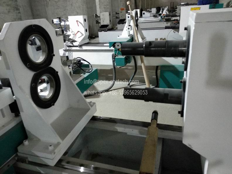 1516 Double Axis Wood Lathe Machine for Turning And Milling details