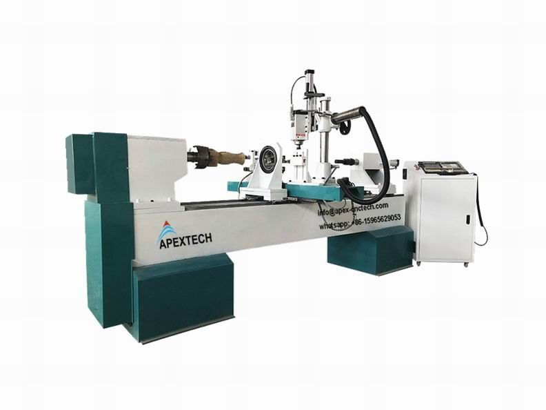 2040-4Axis Wood Turning Lathe Machinery for Staircase Column on Sale
