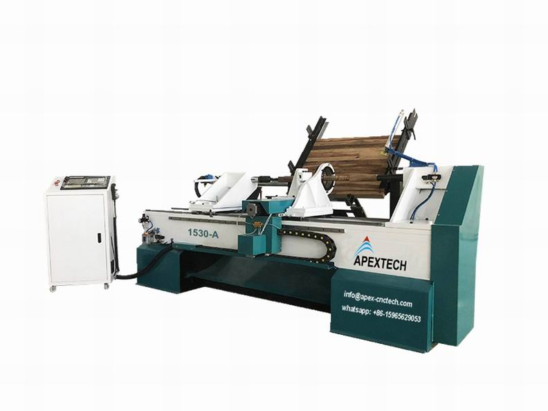 1530-CNC-Wood-Turning-Lathe-Machine-with-Full-Automatic-Feeding-System-for-sale