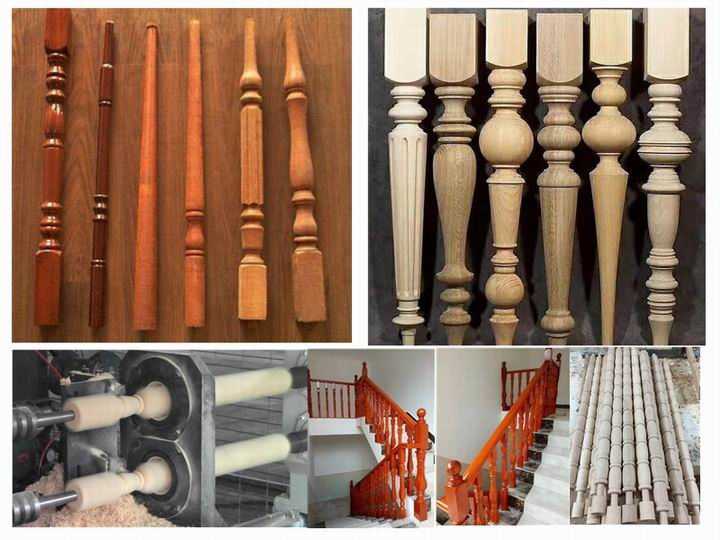 cnc wood lathe machinery for roman columns, wood cups, wood bowls, wood vases, table legs