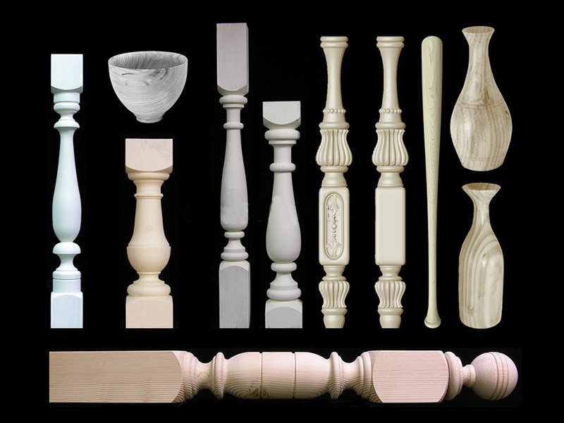 wood-turning-lathe-staircase-legs-samples